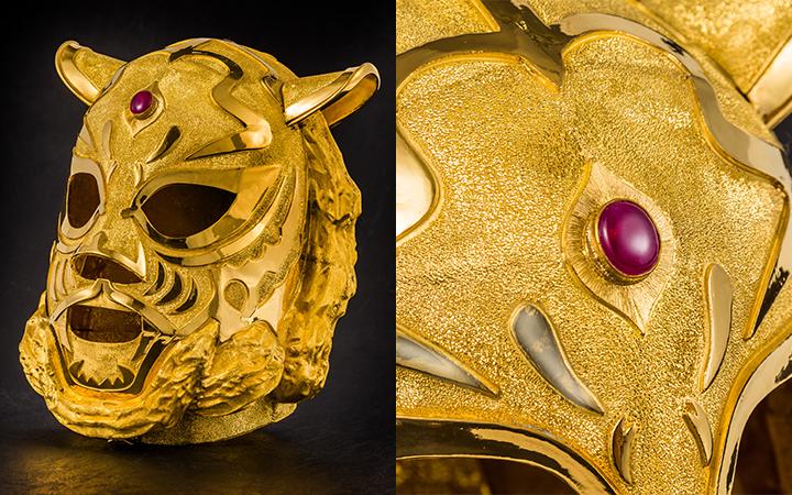 純金ゴールドマスク5kg
