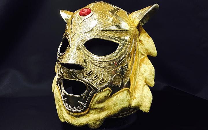 Y.N.製-黄金の虎・牙付き画像