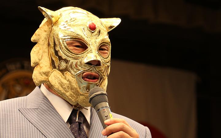 元気な姿を披露する初代タイガーマスクその3