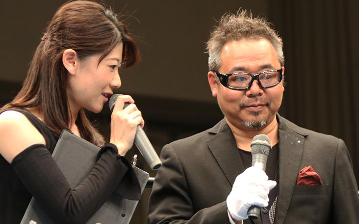 インタビューに答える川野悟氏